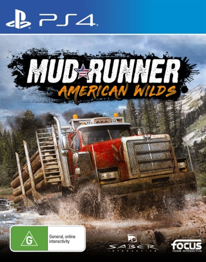 Spintires Mudrunner American Wilds | PlayStation 4