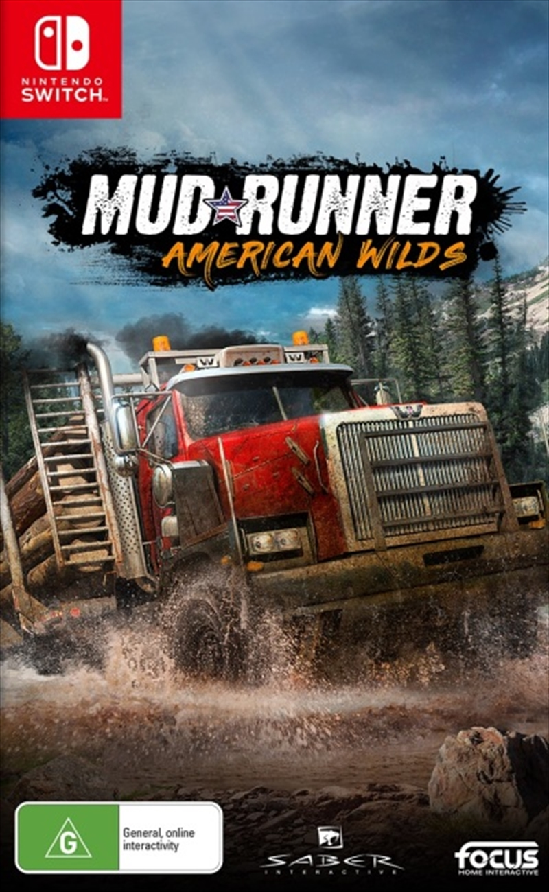 Spintires Mudrunner Us Wilds | Nintendo Switch