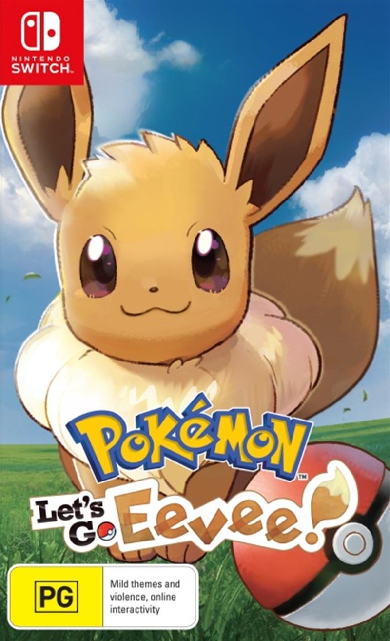 Pokemon Lets Go Eevee | Nintendo Switch