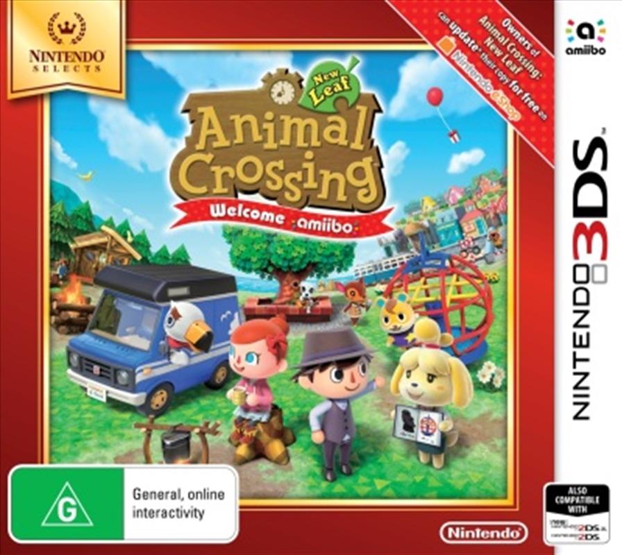 Animal Crossing Welcome Amiibo | Nintendo 3DS