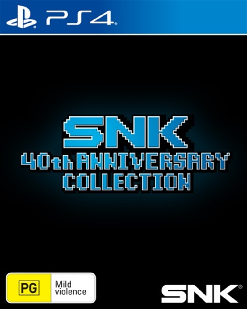 SNK 40th Anniversary Collection | PlayStation 4