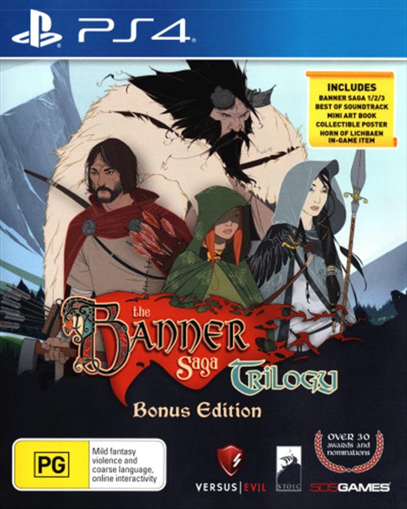Banner Saga Trilogy: Bonus Edn | PlayStation 4