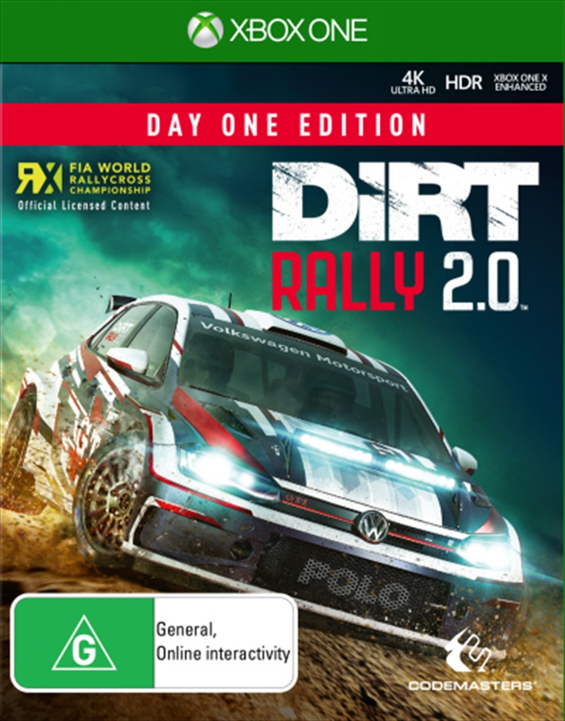 Dirt Rally 2.0 | XBox One