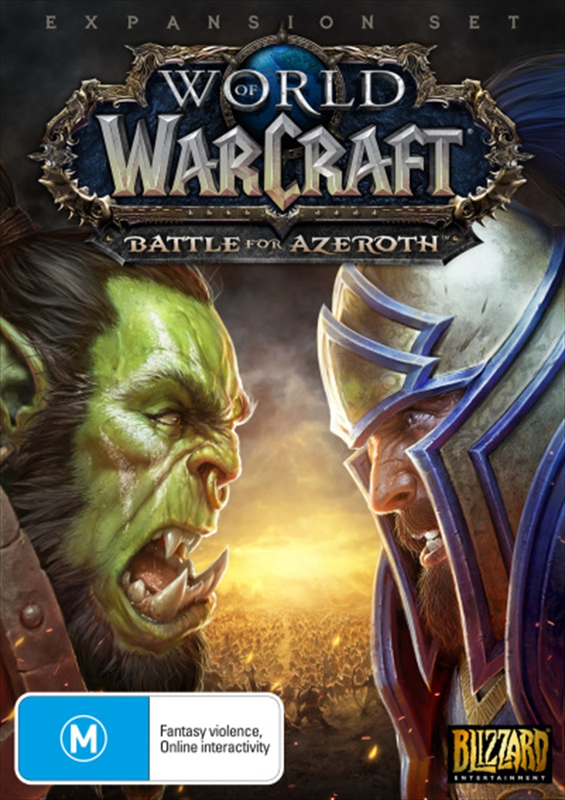 World Of Warcraft Battle For Azeroth | PC