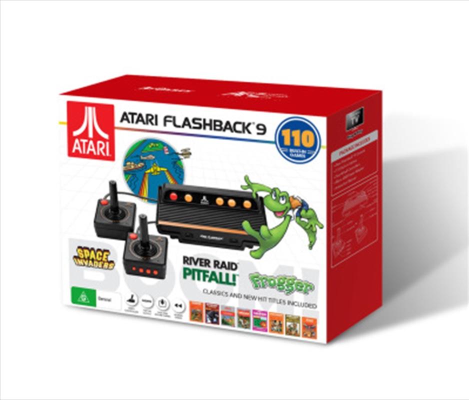 Boom Atari Flashback 9 Gaming Console | Accessories