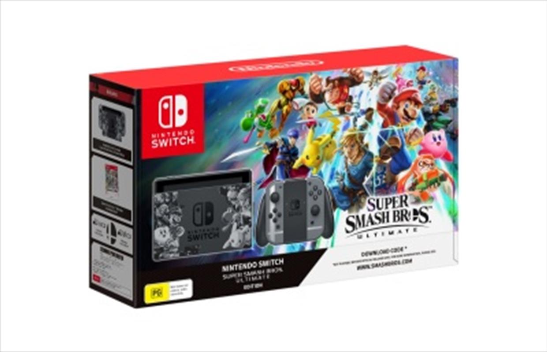 Nintendo Switch Console Super Smash Bros Ultimate Edition | Nintendo Switch