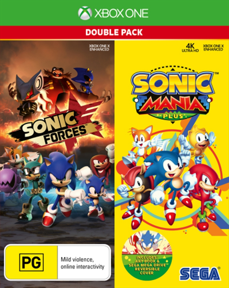 Sonic Forces And Sonic Mania | XBox One