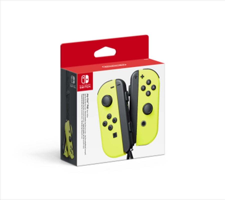 Joy Con Yellow Controller Pair | Nintendo Switch