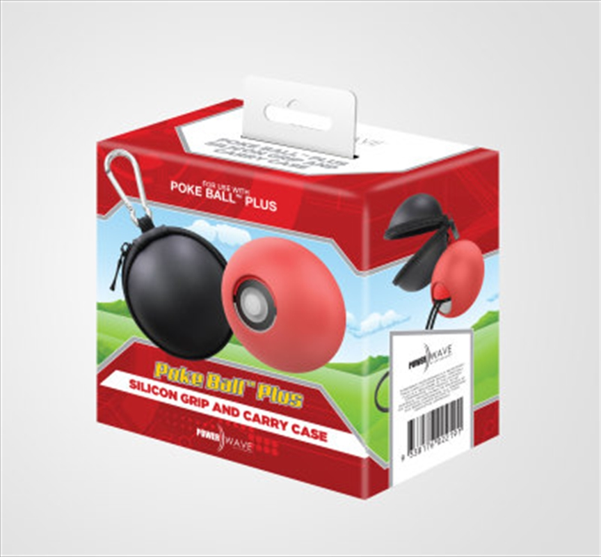 Powerwave Poke Ball Plus Silicon Grip and Carry Case Bundle | Accessories