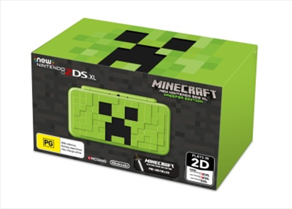 Nintendo 2ds Xl Minecraft Edn   Nintendo 3DS