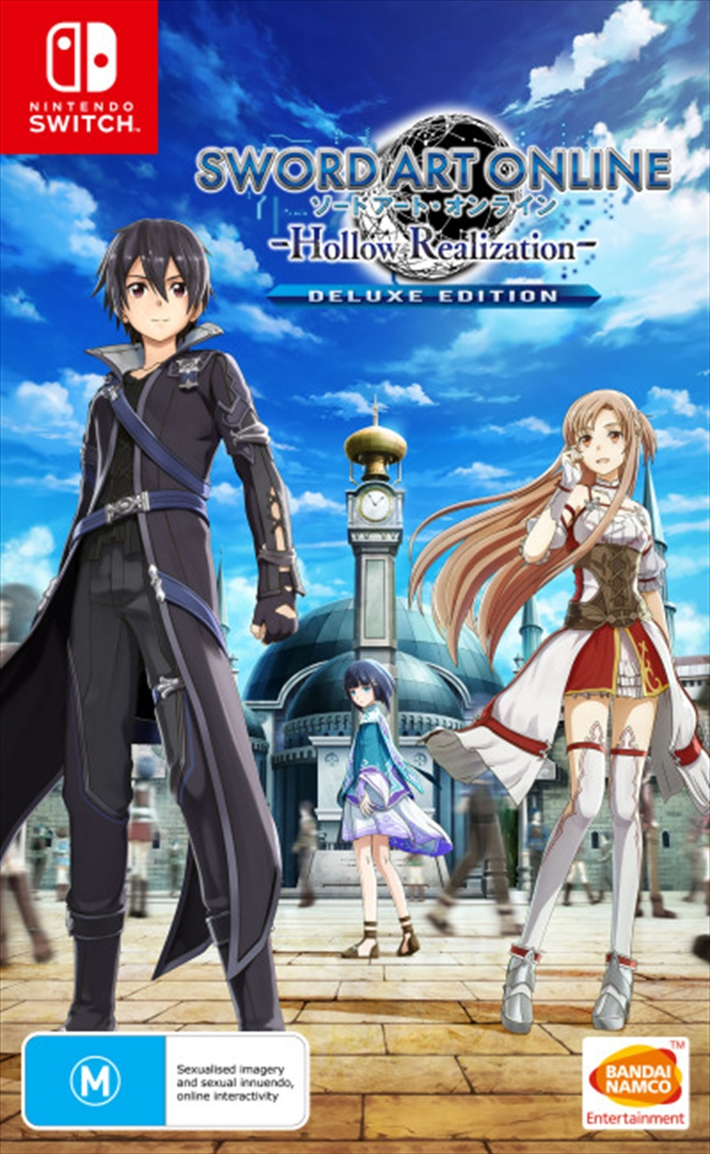 Sword Art Online Hollow Realization Deluxe Edition | Nintendo Switch