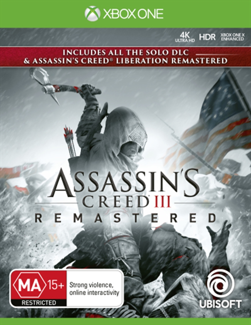Assassins Creed 3 Remastered | XBox One