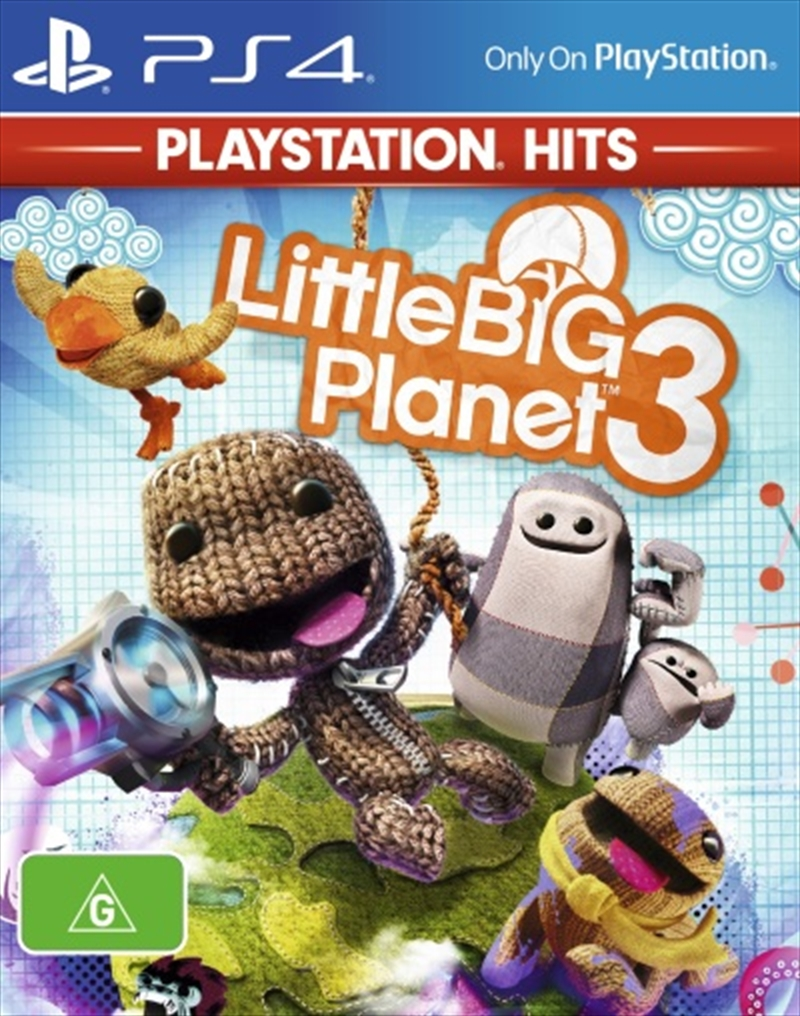 Little Big Planet 3: Ps Hits | PlayStation 4