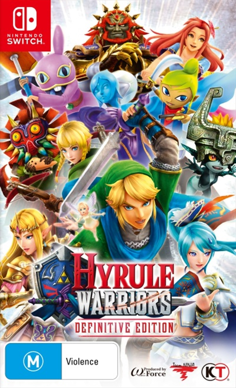 Hyrule Warriors Definitive Edition | Nintendo Switch