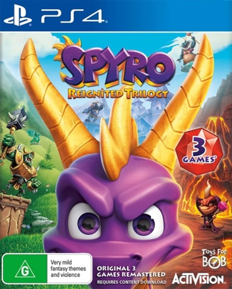 Spyro Reignited Trilogy | PlayStation 4