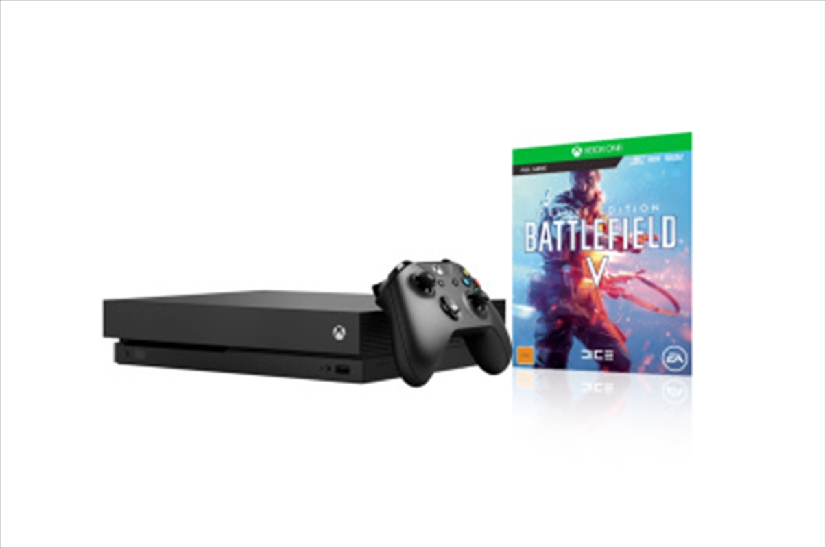 Xbox One Console X with Battlefield V Deluxe Edition | Console