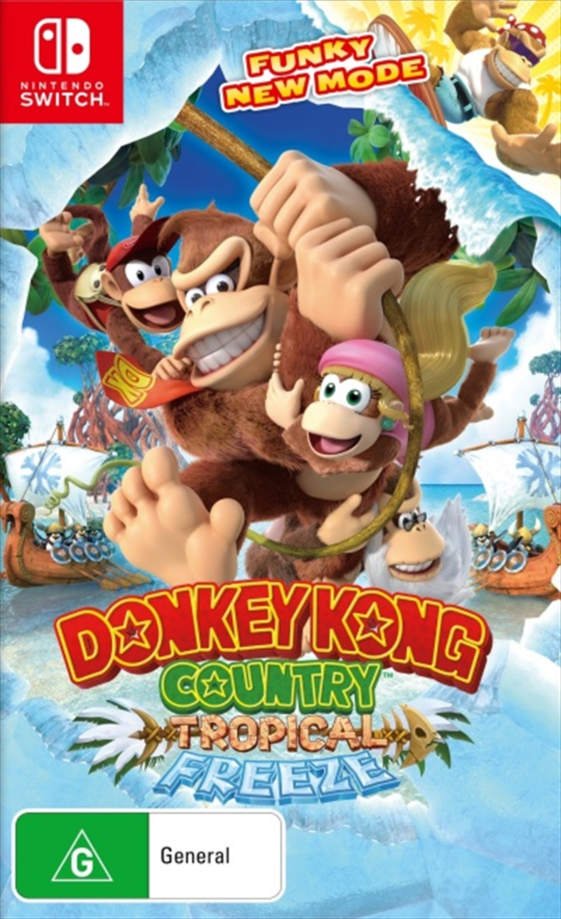 Donkey Kong Country Tropical Freeze | Nintendo Switch