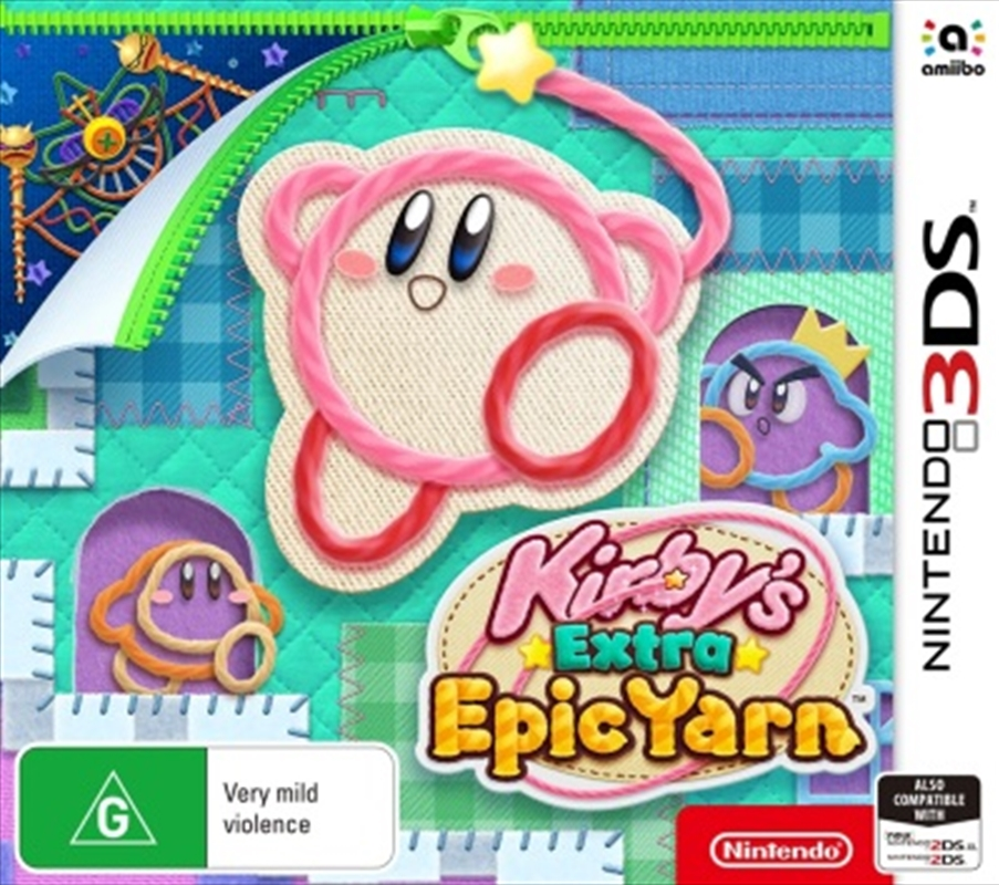 Kirbys Extra Epic Yarn | Nintendo 3DS