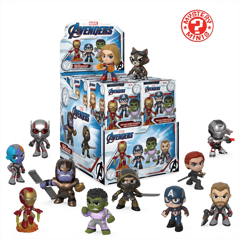 Avengers 4 - Mystery Minis | Merchandise