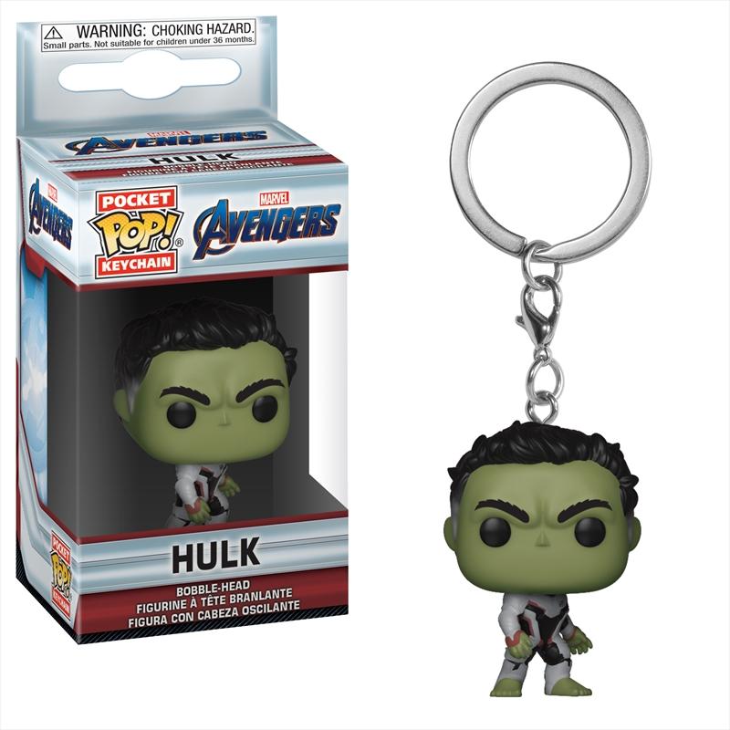 Avengers 4 - Hulk Pop! Keychain | Pop Vinyl