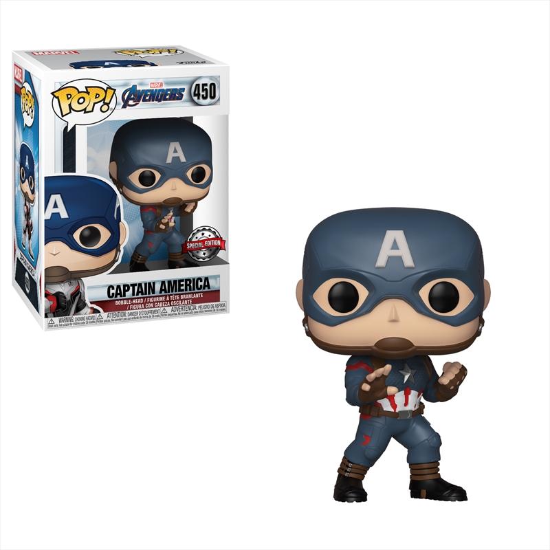 Avengers 4 - Captain America Pop! RS | Pop Vinyl