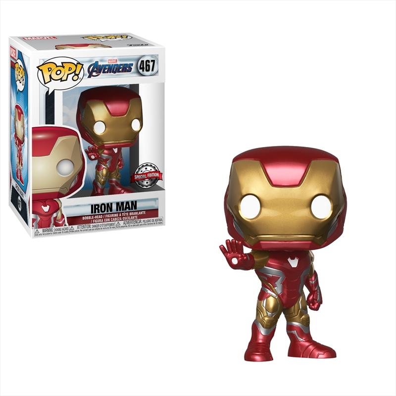 Avengers 4 - Iron Man Pop! RS | Pop Vinyl