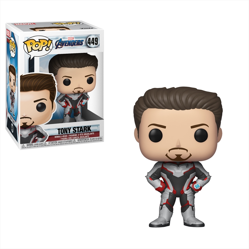 Avengers 4 - Tony Stark (Team Suit) Pop! | Pop Vinyl