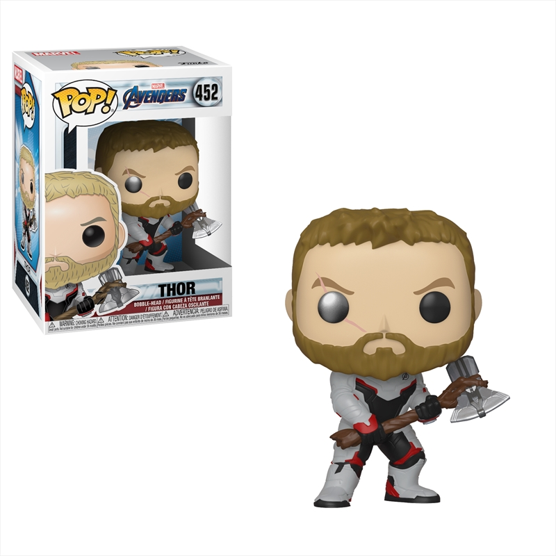 Avengers 4 - Thor (Team Suit) Pop! | Pop Vinyl