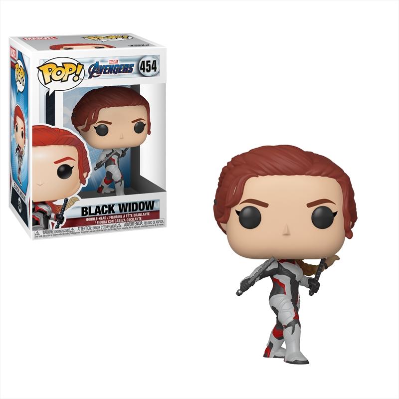 Avengers 4 - Black Widow (Team Suit) Pop! | Pop Vinyl