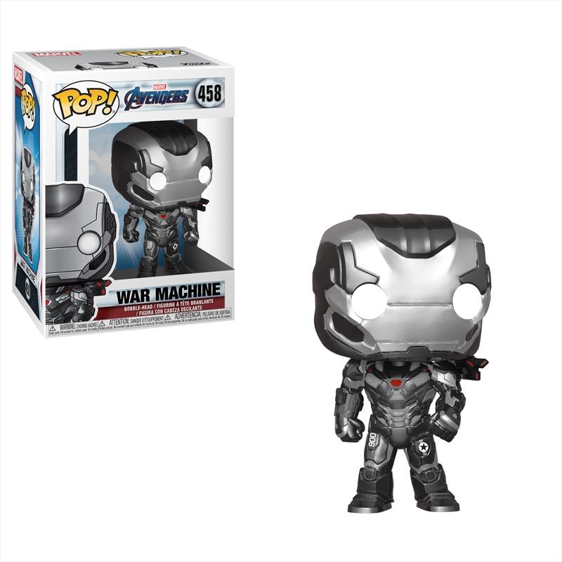 Avengers 4 - War Machine Pop!   Pop Vinyl