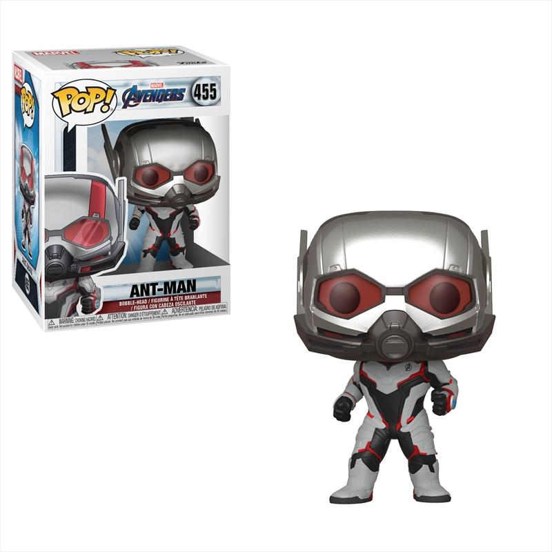Avengers 4 - Ant Man (Team Suit) Pop! | Pop Vinyl