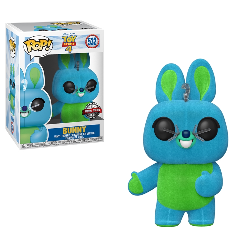 Toy Story 4 - Bunny Flocked Pop! RS | Pop Vinyl