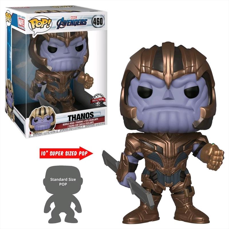 "Avengers 4: Endgame - Thanos 10"" US Exclusive Pop! Vinyl [RS]   Pop Vinyl"