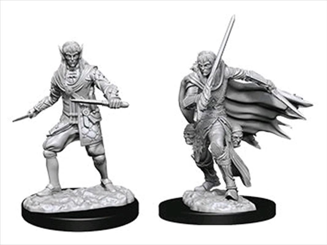 Pathfinder - Deep Cuts Unpainted Miniatures: Male Elf Rogue   Games