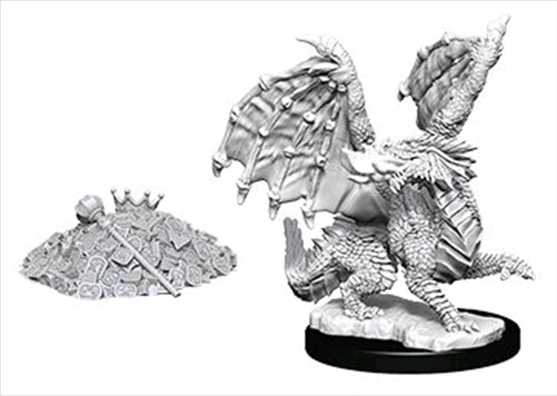 Dungeons & Dragons - Nolzur's Marvelous Unpainted Minis: Red Dragon Wyrmling | Games