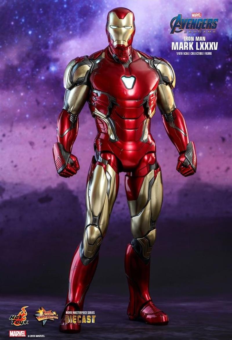 "Avengers 4: Endgame - Iron Man Mark LXXXV 12"" 1:6 Scale Diecast Action Figure | Merchandise"