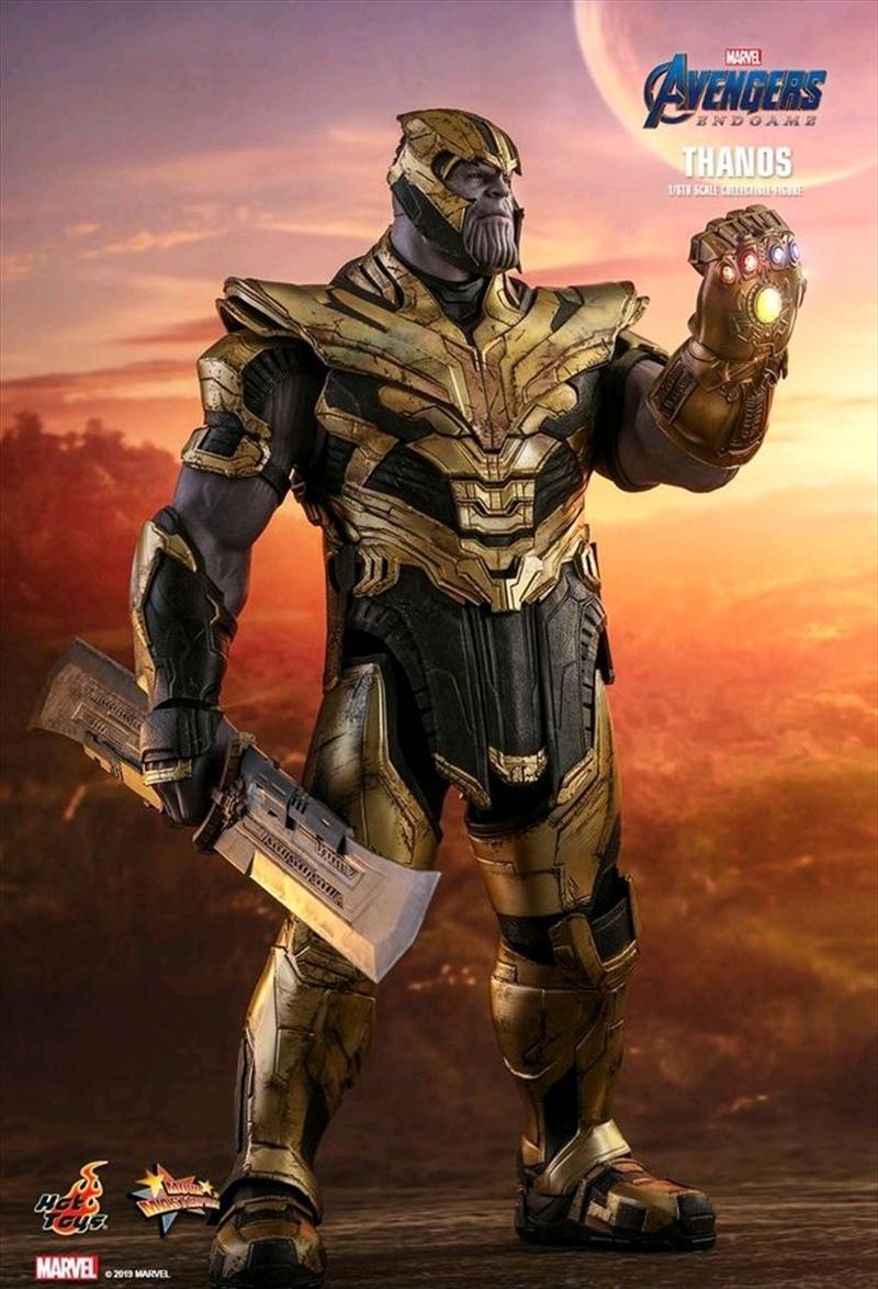 "Avengers 4: Endgame - Thanos 12"" 1:6 Scale Action Figure | Merchandise"