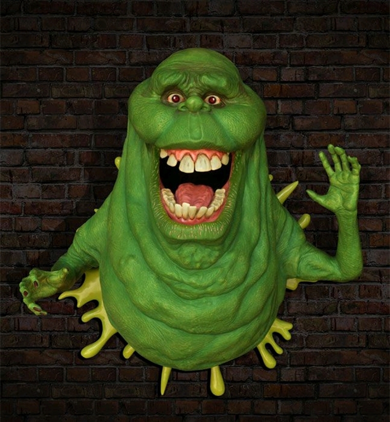 Ghostbusters - Slimer Life-Size Wall Sculpture | Merchandise
