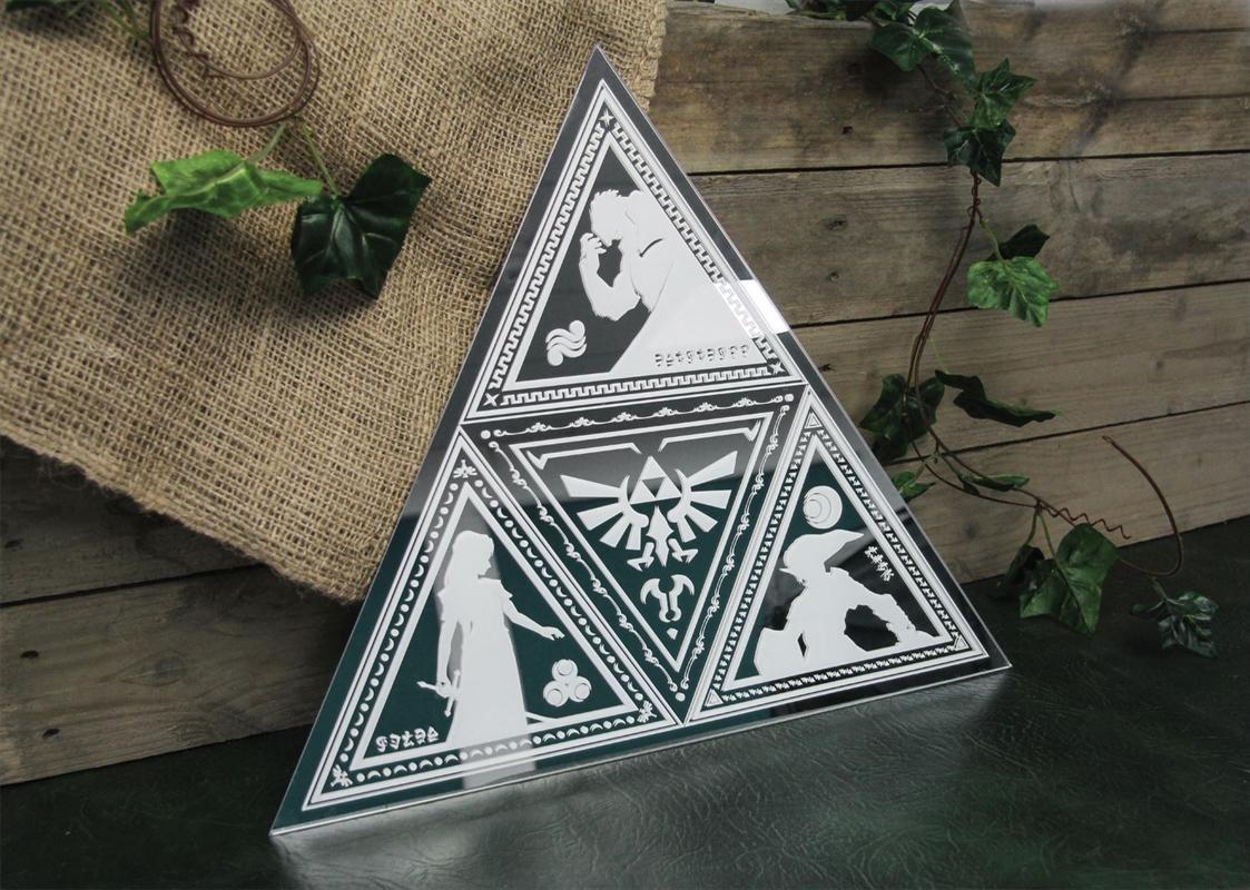 Legend of Zelda Tri-Force Mirror   Homewares
