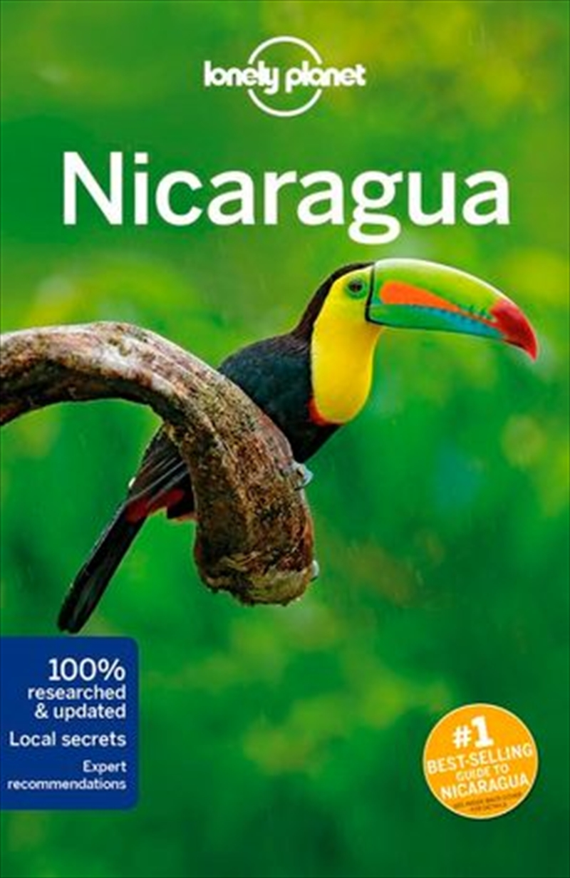 Lonely Planet Travel Guide - Nicaragua 5   Paperback Book