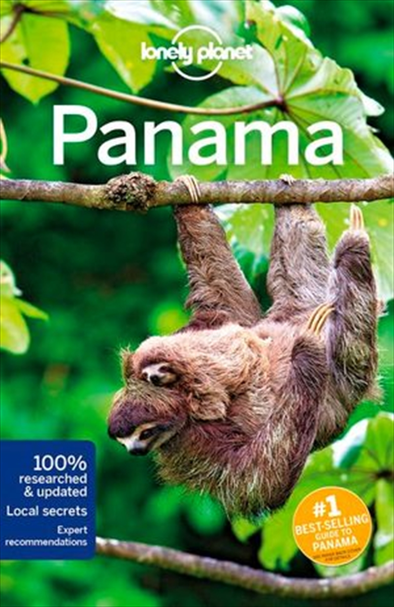 Lonely Planet Travel Guide - Panama 8 | Paperback Book