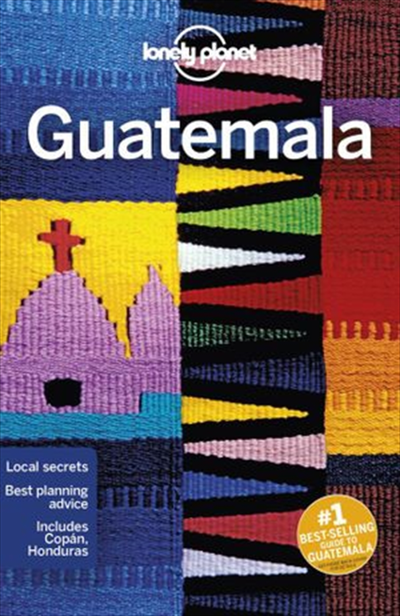 Lonely Planet Travel Guide - Guatemala 7   Paperback Book