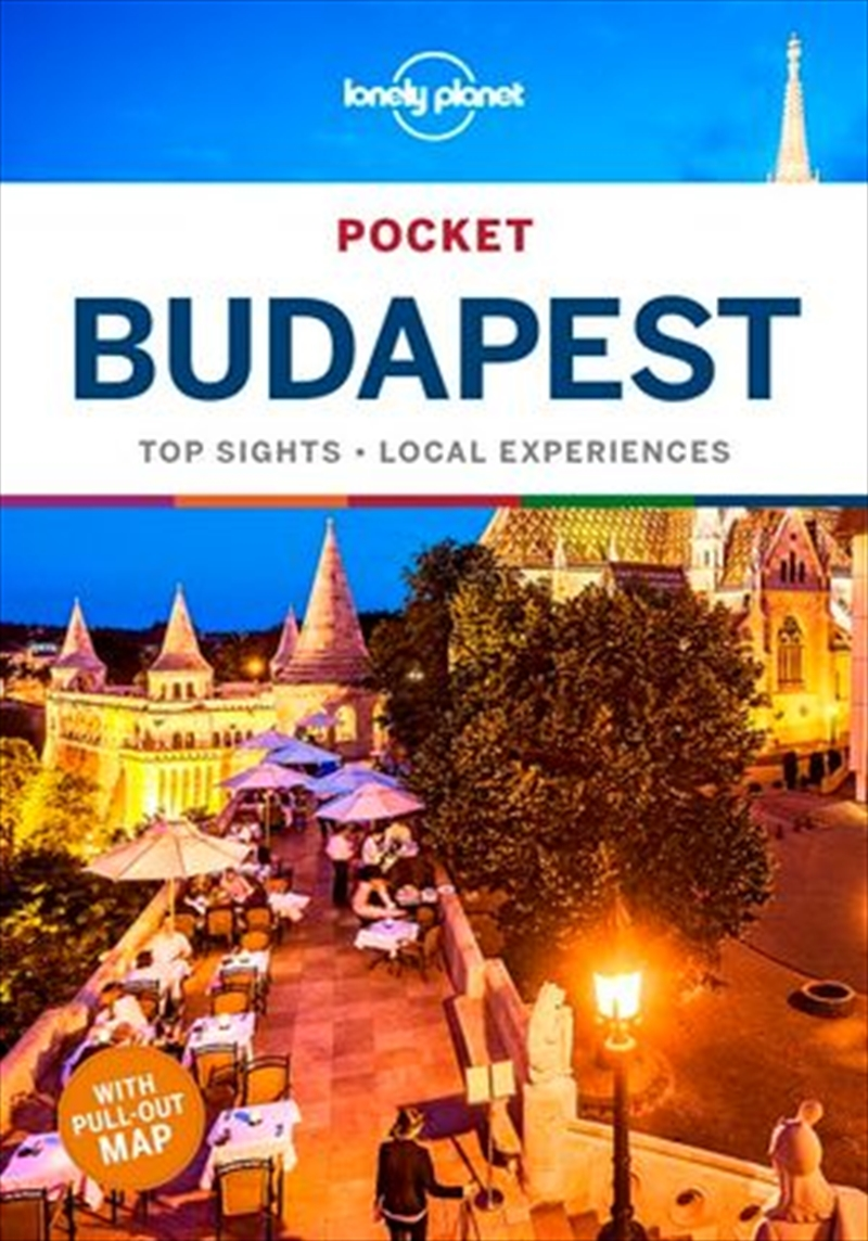 Lonely Planet Travel - Guide Pocket Budapest 3   Paperback Book