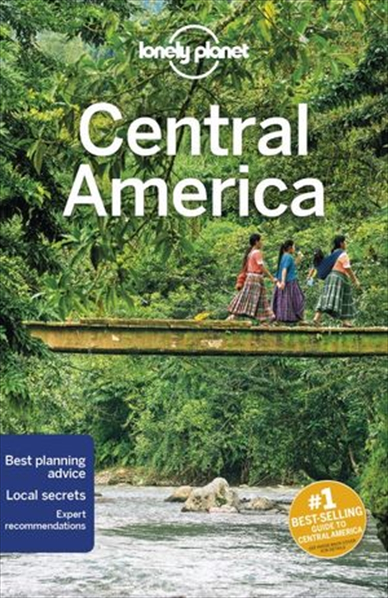 Lonely Planet Travel Guide - Central America 10 | Paperback Book