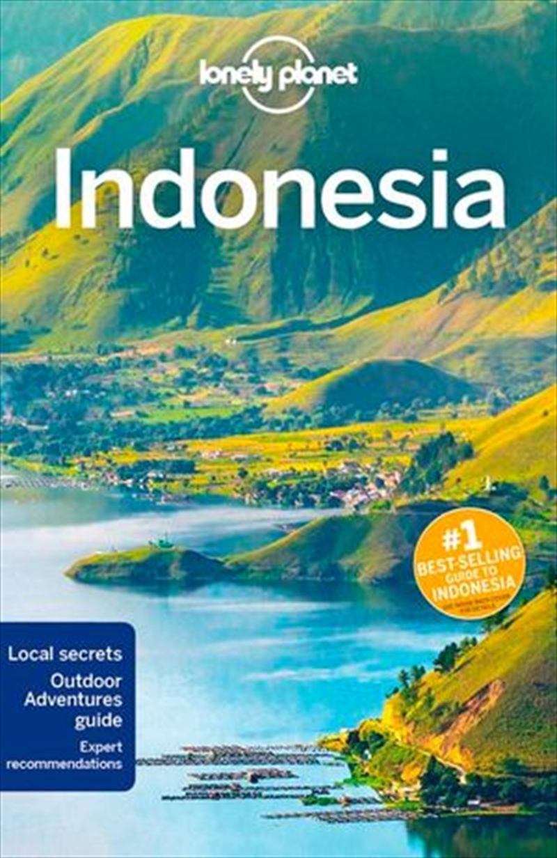 Lonely Planet Travel Guide - Indonesia 12 | Paperback Book