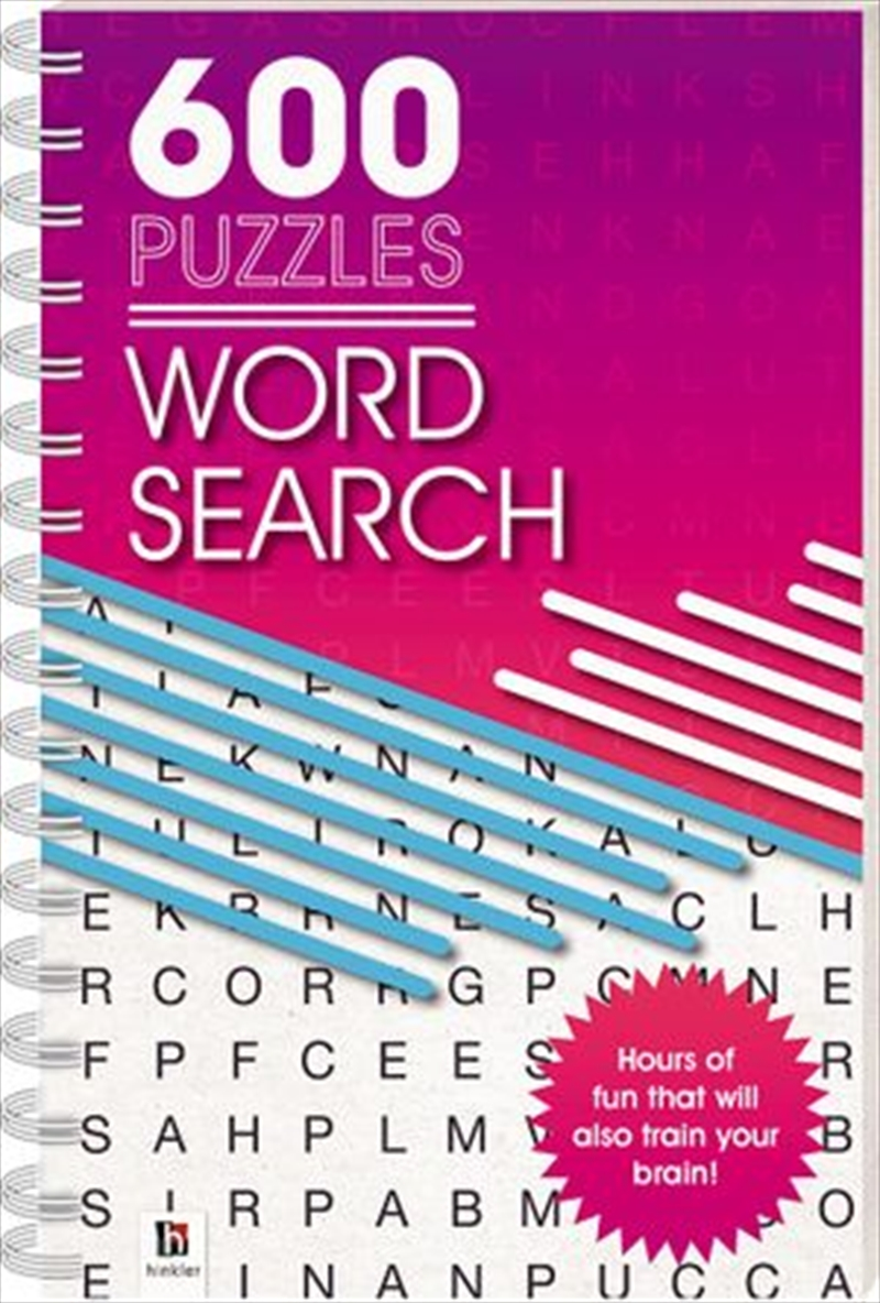 600 Puzzles: Wordsearch | Paperback Book