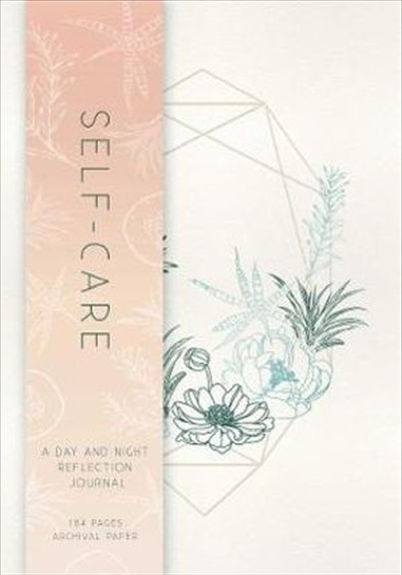 Self-Care A Day and Night Reflection Journal (90 Days) | Paperback Book