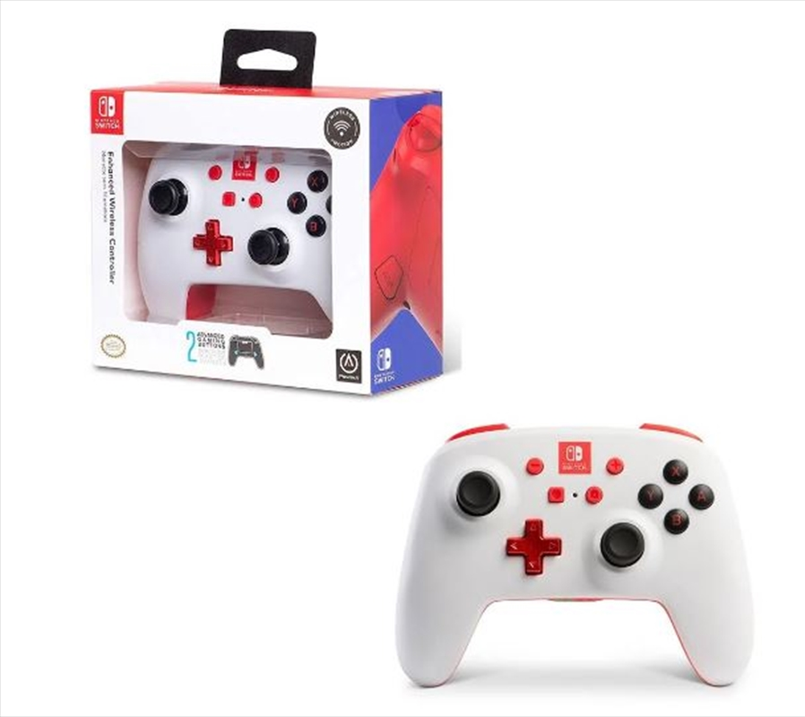 Enhanced Wireless Controller for Nintendo Switch White | Nintendo Switch