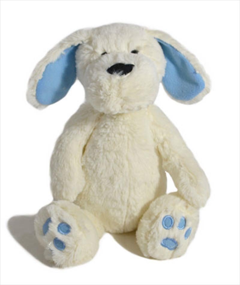 23cm Toby Dog Blue/White | Toy