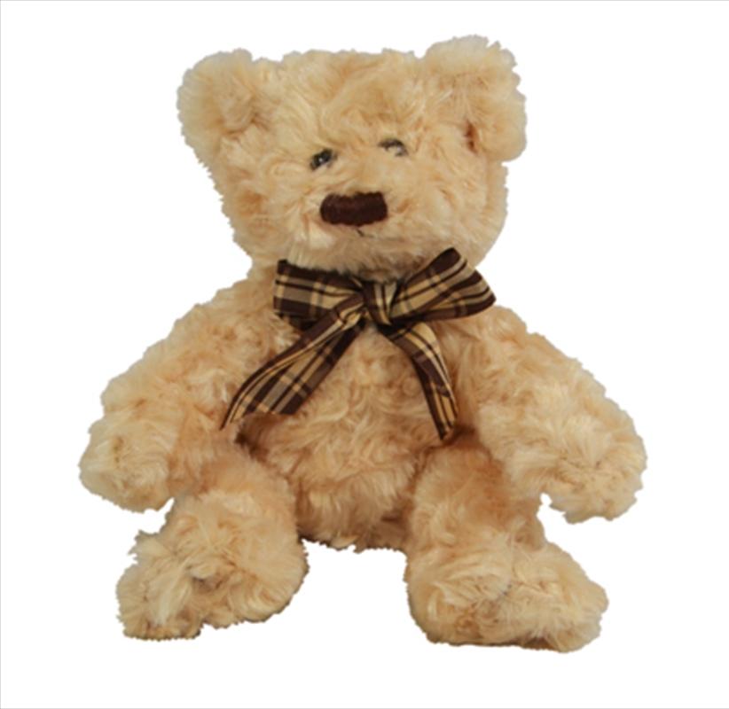 16cm Scruffy Bear Brown | Toy